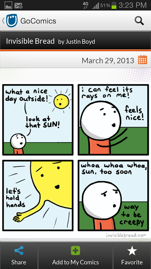 GoComics- screenshot
