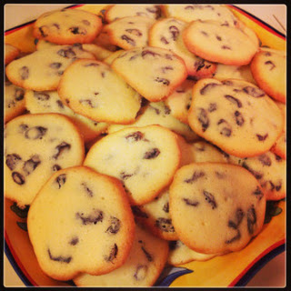 Cookies With Rum And Raisins