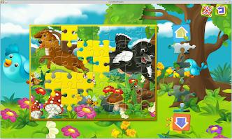 Screenshot of Nestor Fairy Tale Puzzles Fun