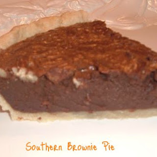 Southern Brownie Pie.