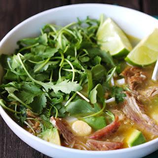 Carnitas Caldo (Carnitas Soup)