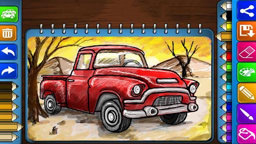 Truck Coloring Saga