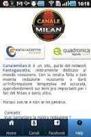 Screenshot of Canale Milan