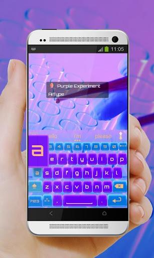 玩免費個人化APP|下載紫色實驗Zǐsè shíyàn AiType app不用錢|硬是要APP