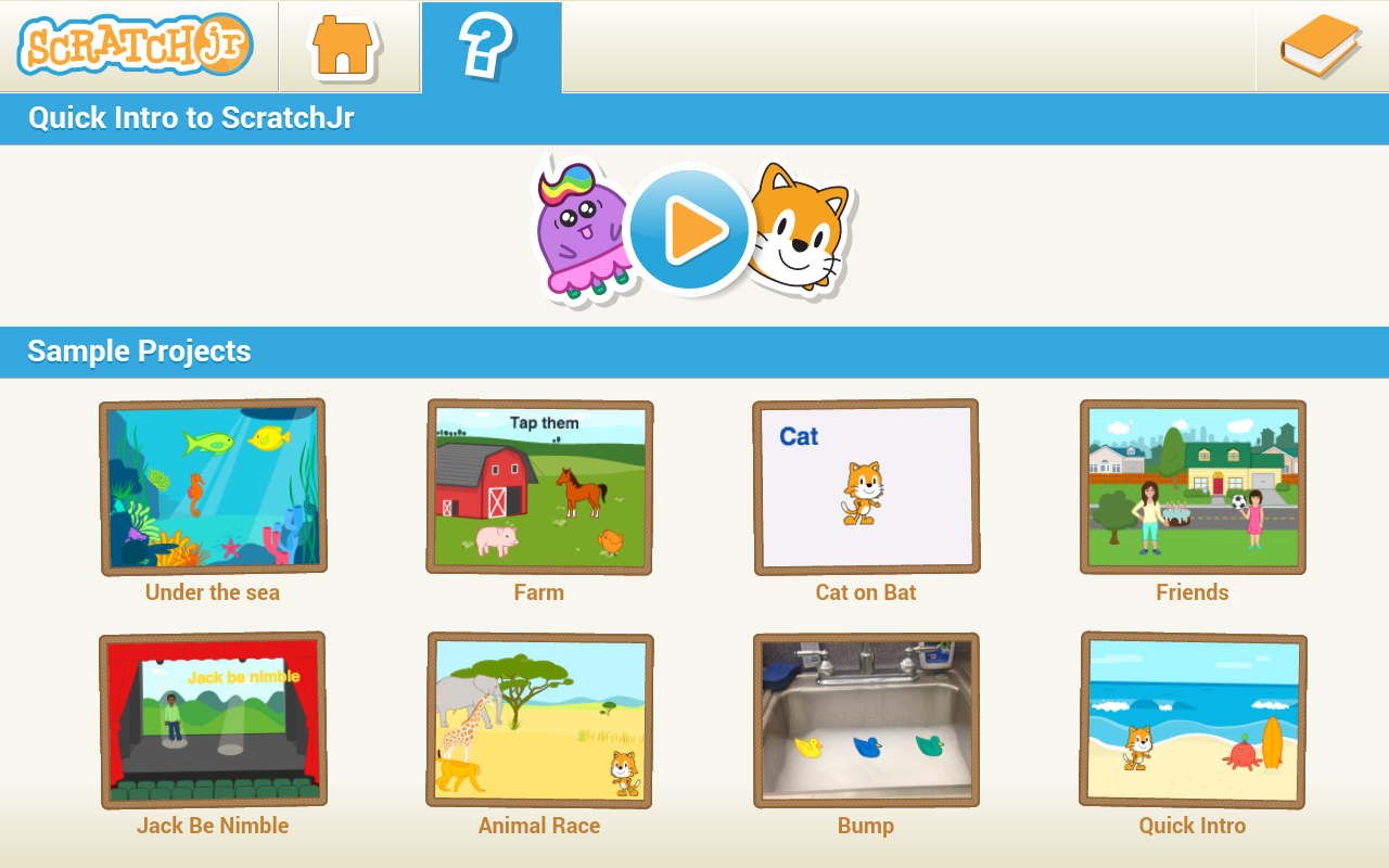 ScratchJr- screenshot