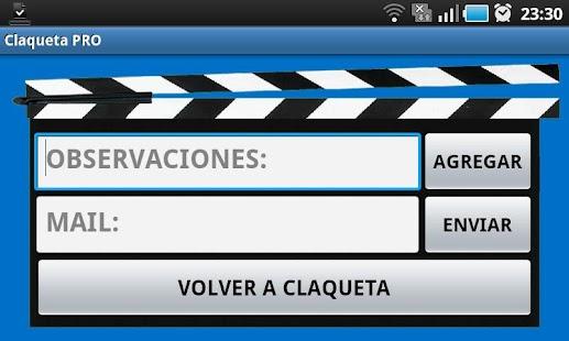 Claqueta PRO- screenshot thumbnail