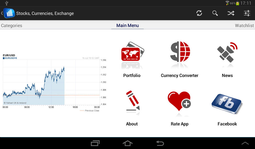 Stock exchange finance market - screenshot