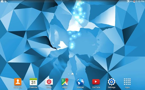 crystal s5 live wallpaper android apps on google play