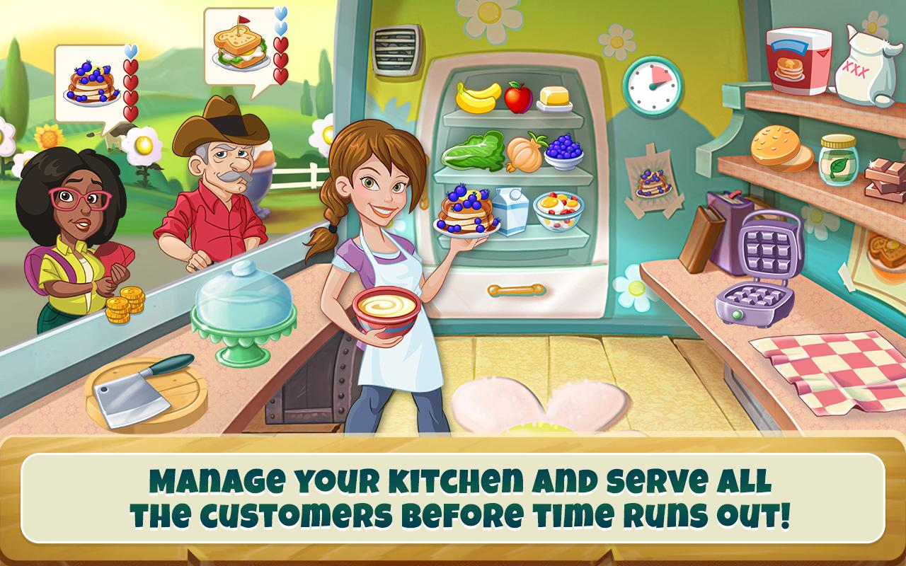 Screenshots of Kitchen Scramble: Cooking Game for iPhone