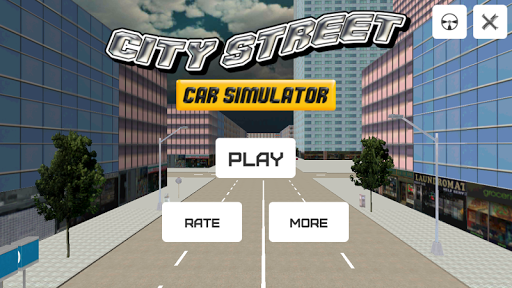 City Street Car Simulator