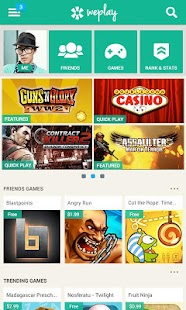 WePlay - Android games for you - screenshot thumbnail