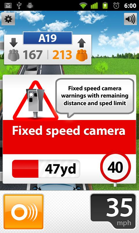 Speed Cams Wikango HD v4.3.2 - screenshot