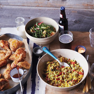 Fried Chicken with Cornmeal Crust