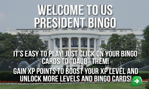 US President Bingo