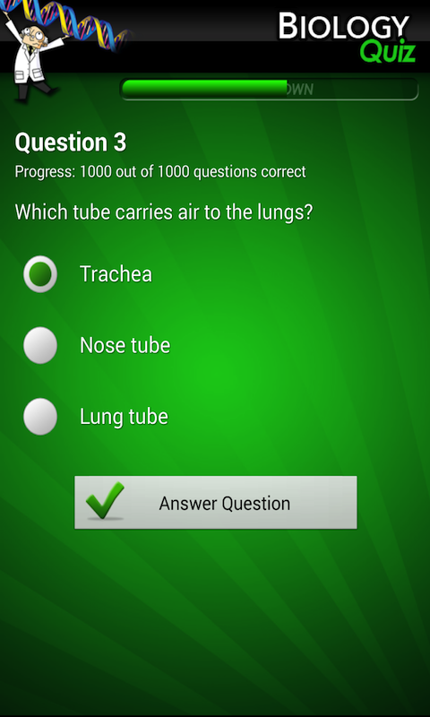 ultimate biology quiz android apps on google play