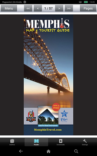 Memphis Map Tourist Guide