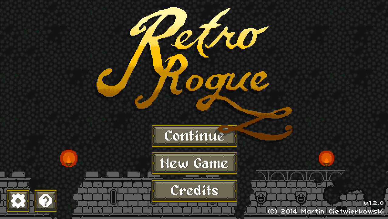 Retro Rogue- screenshot