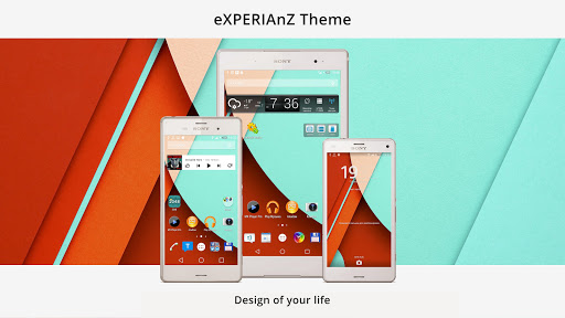 Theme eXPERIAnZ - Lollipop Z