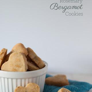 Rosemary Bergamot Cookies.