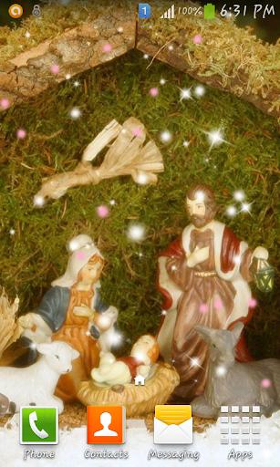 Christmas crib wallpaper 7