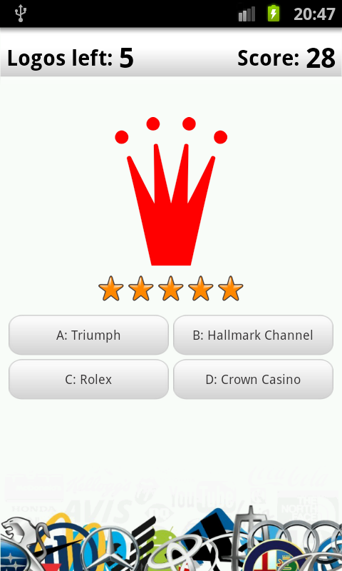 Logo Quiz Deluxe - screenshot