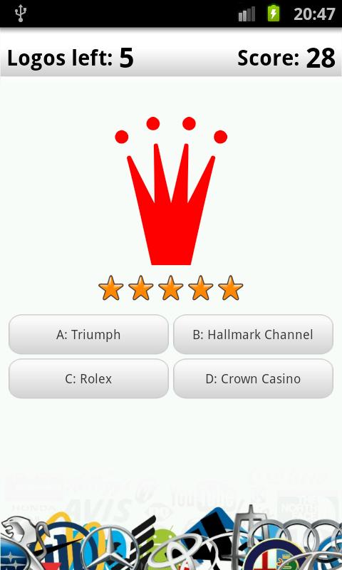 Logo Quiz Deluxe – zrzut ekranu