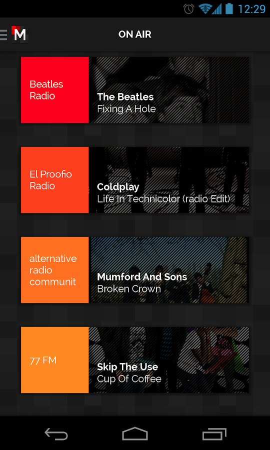 MPme Radio - screenshot