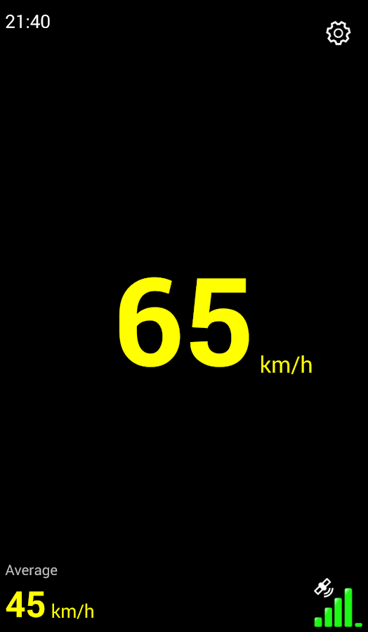 GPS Speedo- screenshot