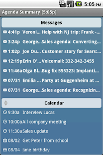 Agenda Messenger - screenshot thumbnail