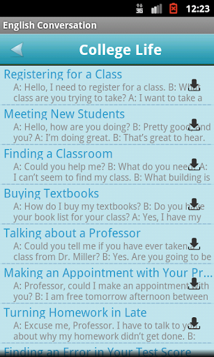 【免費教育App】English Conversation-APP點子