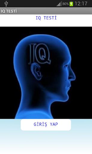 IQ TESTİ