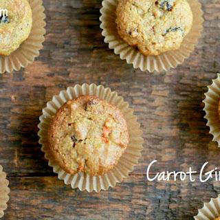 Carrot Ginger Muffins (Gluten/Grain-free, Paleo)