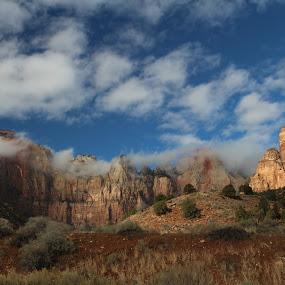Zion National Park by VAM Photography - Landscapes Mountains & Hills ( national park, places, travel,  )