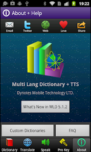 Multi Lang Dictionary Pro Key - screenshot thumbnail