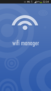Wifi Manager for Android - screenshot thumbnail