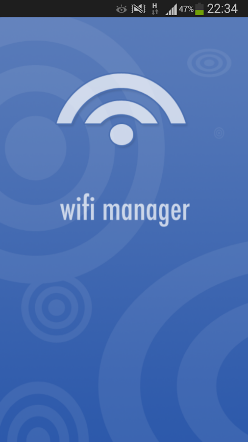 Wifi Manager for Android- screenshot