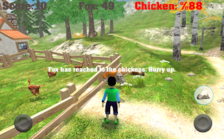 Screenshot of Save Your Chickens