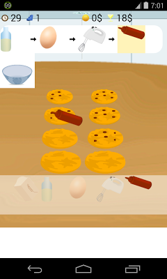 cooking cookies games - screenshot
