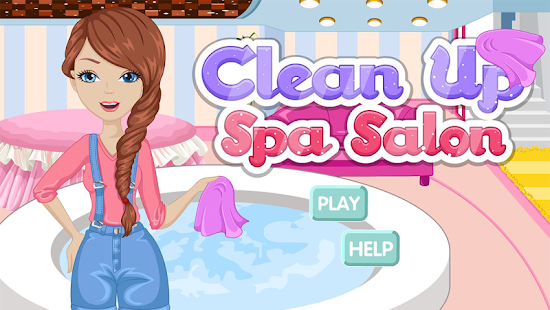 清理水疗沙龙