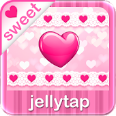 ♥ Hot Sweet Heart Theme SMS ♥