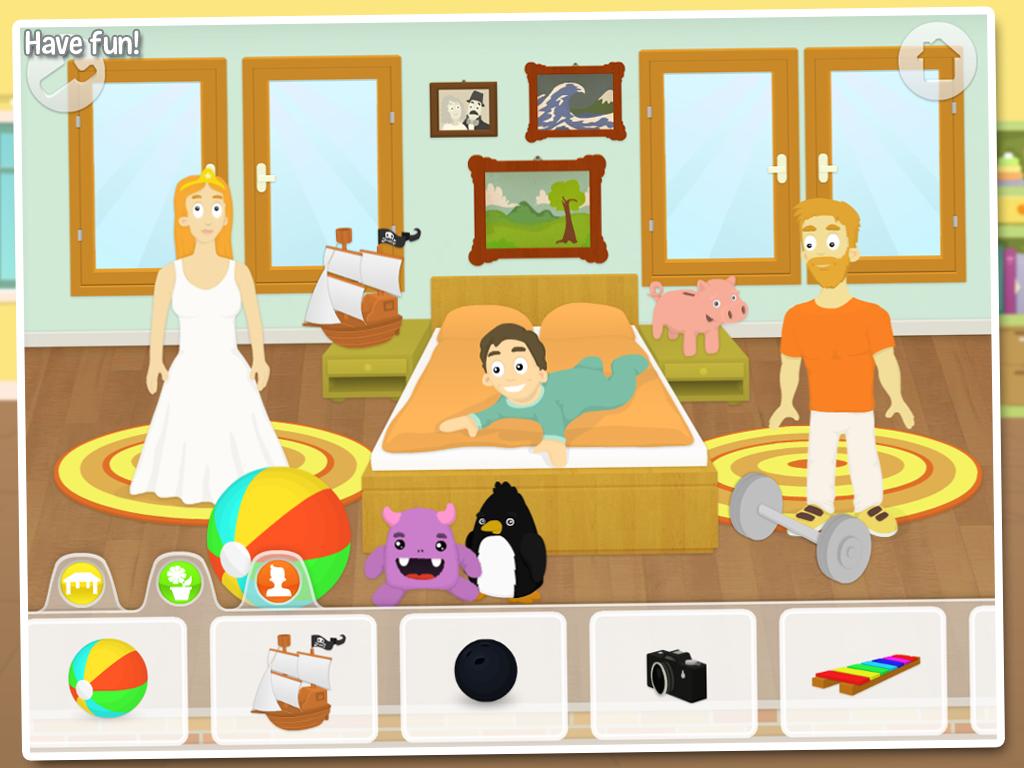 my house fun for kids screenshot - Fun Pics For Kids