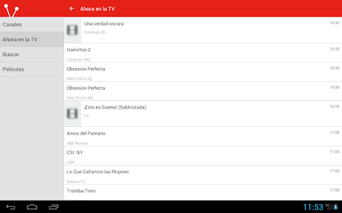 Mexican Television Guide Free 8