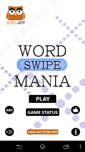 Word Swipe Mania Guru-App