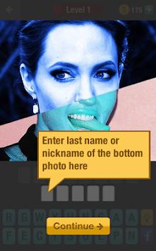 Celebrity quiz level 91 guess