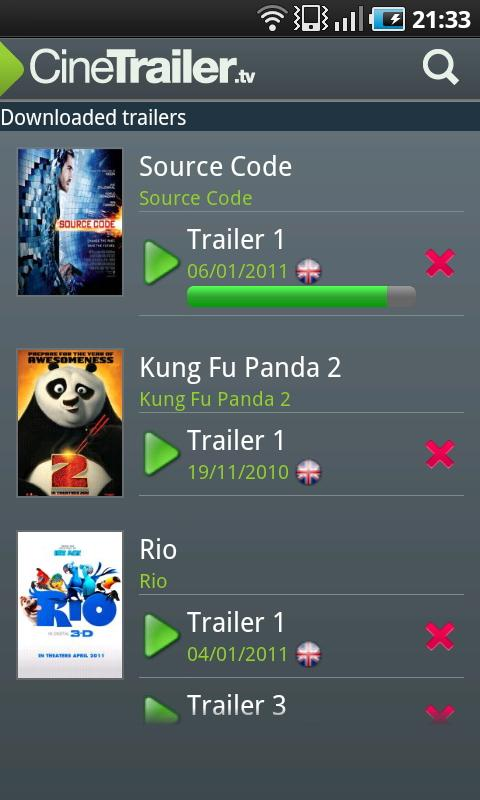 CineTrailer Cinema & Showtimes- screenshot