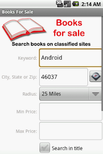 Books For Sale - screenshot thumbnail