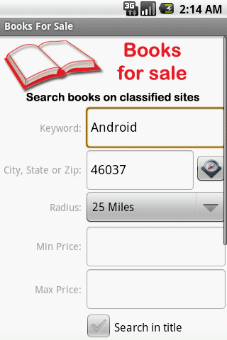 Books For Sale - screenshot