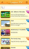 Screenshot of Children TV ~ videos for kids