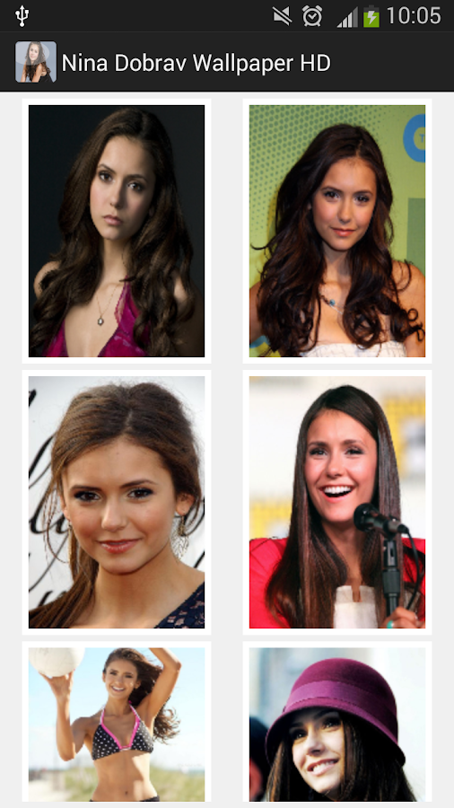 Nina dobrev wallpaper HD 2014 - screenshot