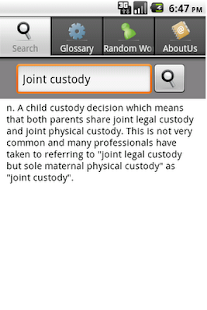 Law Dictionary - screenshot thumbnail